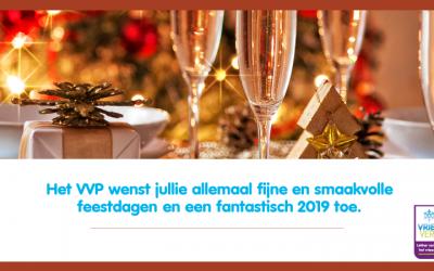 VVP wenst iedereen fijne feestdagen!