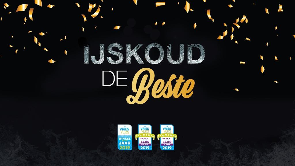 Albert Heijn, Coop en Plus winnen 'IJskoud de VriesVers-prijzen'
