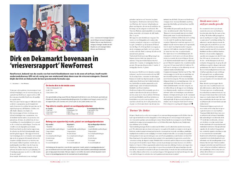 """Dirk en Dekamarkt bovenaan in """"Vriesvers rapport 2019"""""""