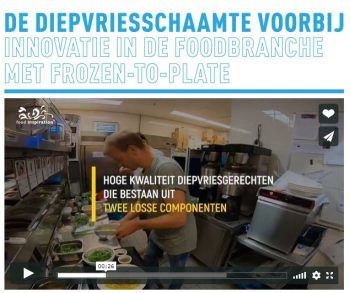 Innovatie in de foodbranche
