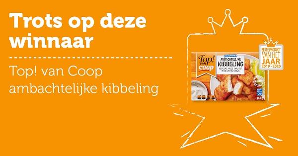 Top! van Coop ambachtelijke Kibbeling – Beste Product van het jaar 2019-2020!